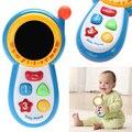 Telefone de brinquedo musical do bebê dos miúdos telefone celular de som crianças educacional estudo aprendizagem musical jogar toys presentes de natal