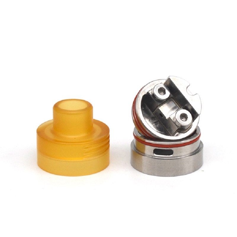 ULTON high quality Parvum  22mm RDA  MTL/DL Rebuildable Dripping  atomizer   For Electronic Cigarette Squonk Box Mod