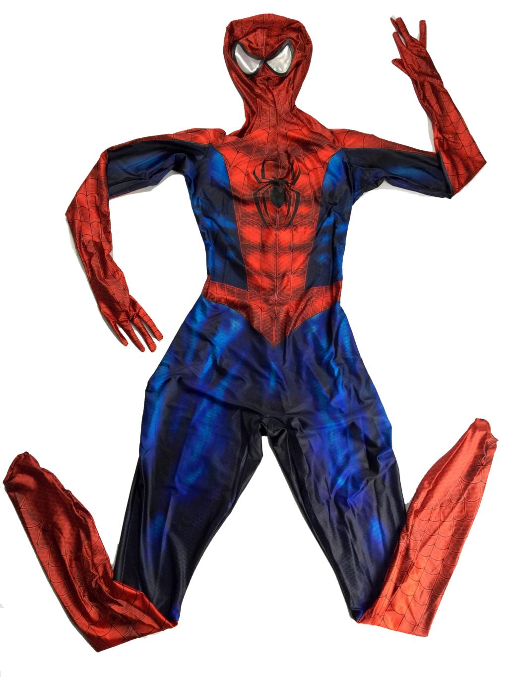Spider Man Halloween Costume Adults.Us 54 1 8 Off Custom Amazing Spider Man Spiderman Halloween Costumes Men Adult Costume Adult Homecoming Traje Black Red Suit Cosplay Zentai In Movie