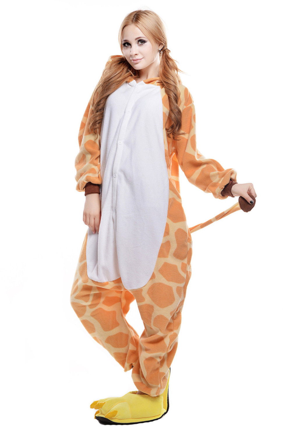 halloween costume giraffe one piece anime jumpsuits pajamas animal cosplay costume men women adult jumpsuits sleepwear on aliexpresscom alibaba group