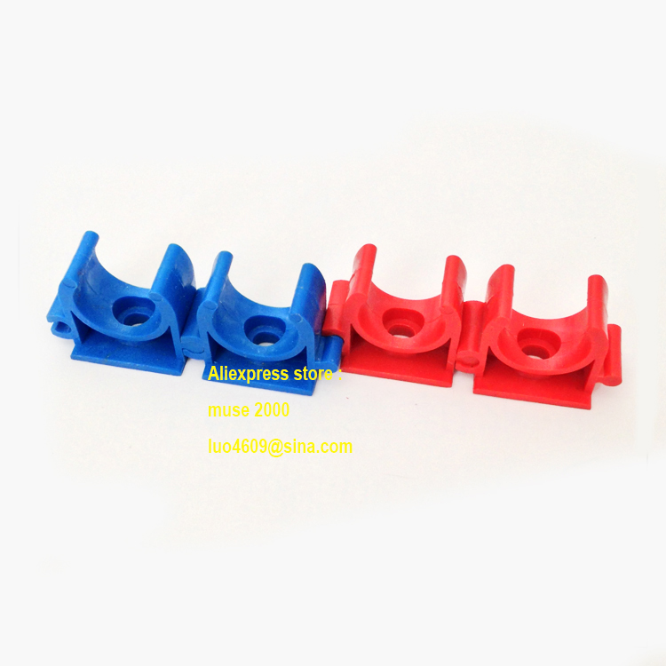 For od mm tube clamp red blue electrical wire