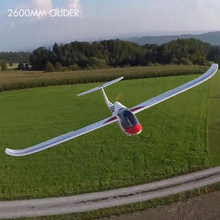 KIT+ motor glider RC Airplane 2600mm FPV glider remote control air plane hobby model aeromodeling electric radio planescontrole