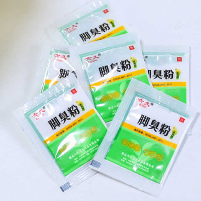 10Bags Anti Fungus Sweat Itch Odor Removing Foot Powder Effectively Moisturizing Feet Care 2
