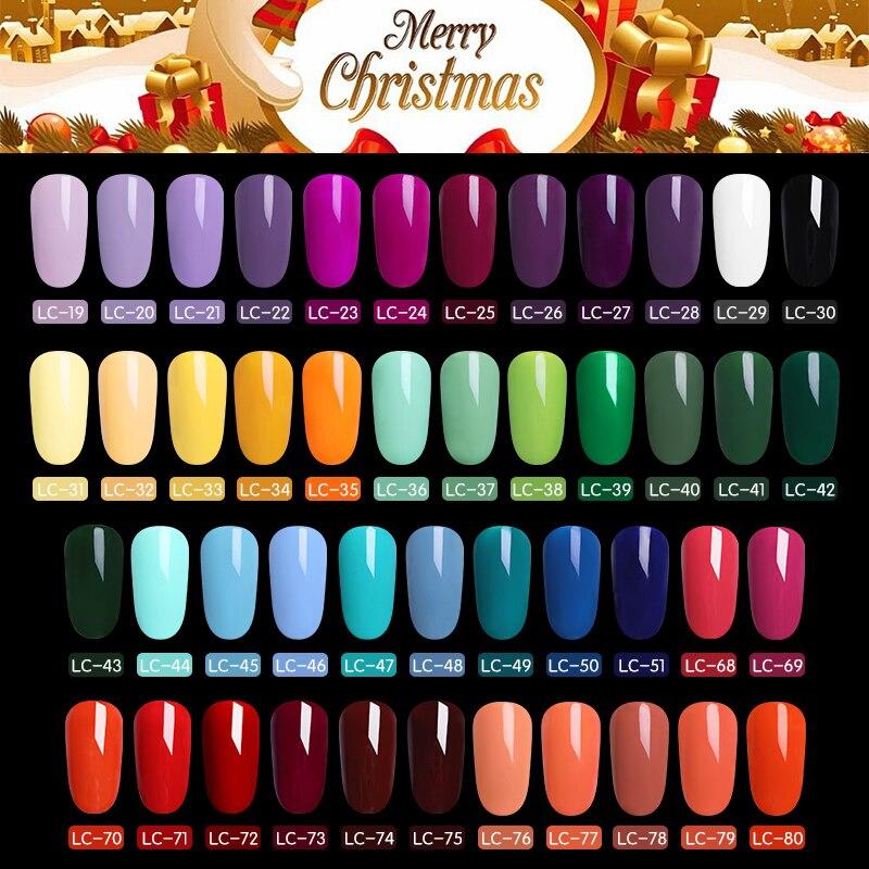 LILYCUTE ню серии лак для ногтей 5 мл фиолетовый Красные, Черные Серые Soak Off UV Гель для ногтей Клей Лак маникюр ногтей Лаки инструмент