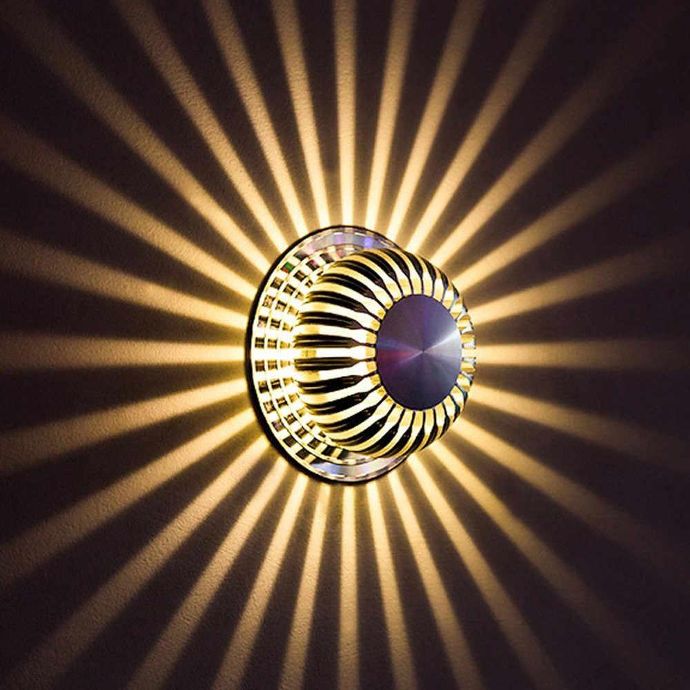 Алюминий Модный Дизайн Красочная Тыква настенный светильник Скрытая установка светодиодный светильник свет украшение дома Прямая доставка