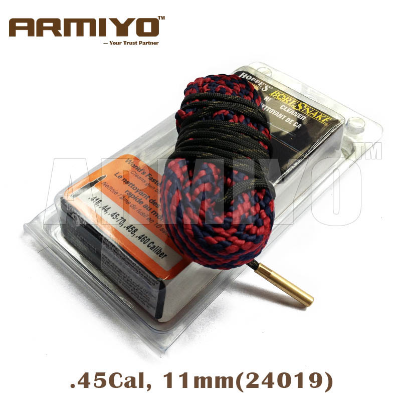 Armiyo Bore Snake .416,.44,.45-70,.458,.460 Cal 11mm Rifle Bore Cleaner Gun Barrel Cleaning Sling 24019 Shooting Clean Kit
