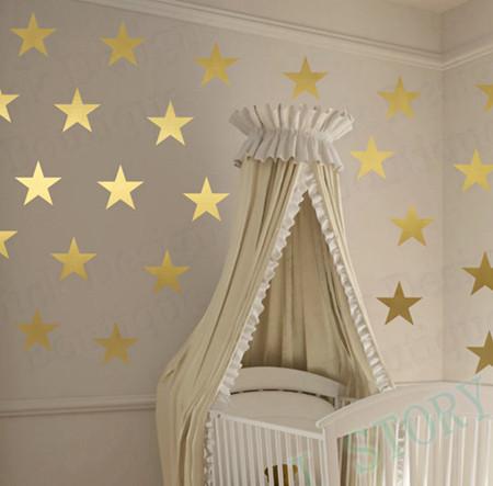 HTB19y4PJXXXXXaYXFXXq6xXFXXXl - Gold stars wall decal vinyl stickers For Kids Rooms