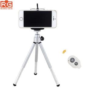 Image 1 - 3 в 1, мини штатив, держатель штатива, Bluetooth пульт дистанционного управления, затвор, зажим для телефона для Apple iPhone 6S 6 Plus, 5S 5