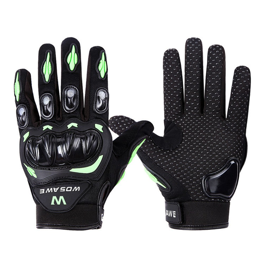 Motorcycle gloves palm protection - Wosawe Professional Motorcycle Gloves Protect Hands Full Finger Breathe Freely Flexible Gloves China Mainland