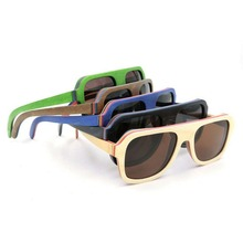 New Noble Male Pilot Environmental Protecting Polarized New Man Sunglasses Solid Wooden Multi Color Sunglasses UV400 Eyewear New