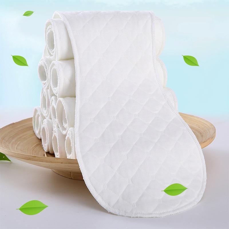 Baby Nappies Diaper Newborn-Cloth Peanut-3layer Reusable Insert Infant Hot-Sale Cotton