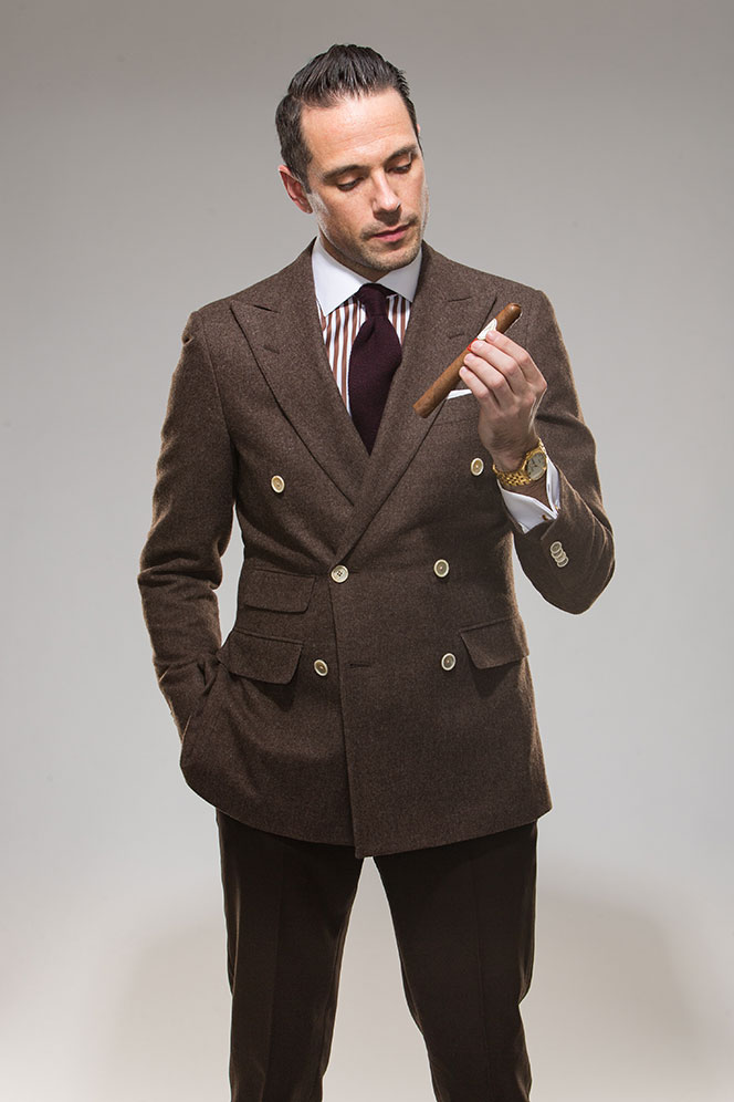Compare Prices on Mens Double Breasted Brown Suit- Online Shopping ...
