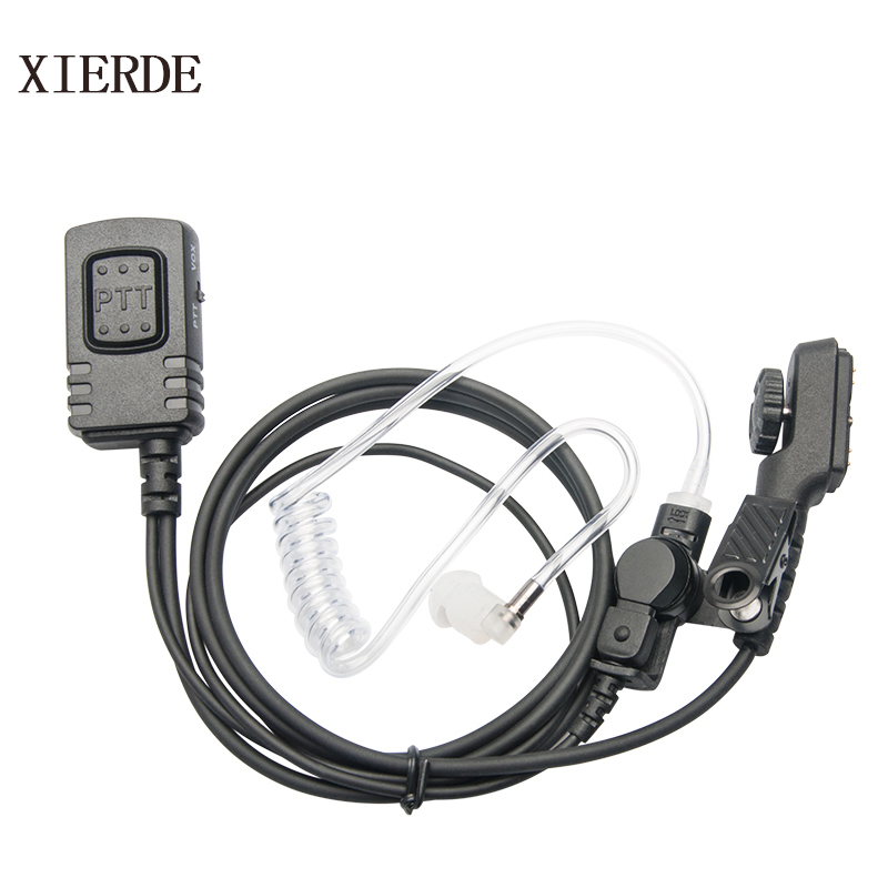 1Pcs Headset Adapter For HYT Hytera PD700 PD700G PD780//780G PT580 PD790EX Radio