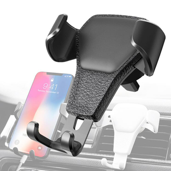 Universal Car Phone Holder For Phone In Car Air Vent Mount Stand No Magnetic Mobile Phone Holder Gravity Smartphone Cell Support mobile phone car vent holder