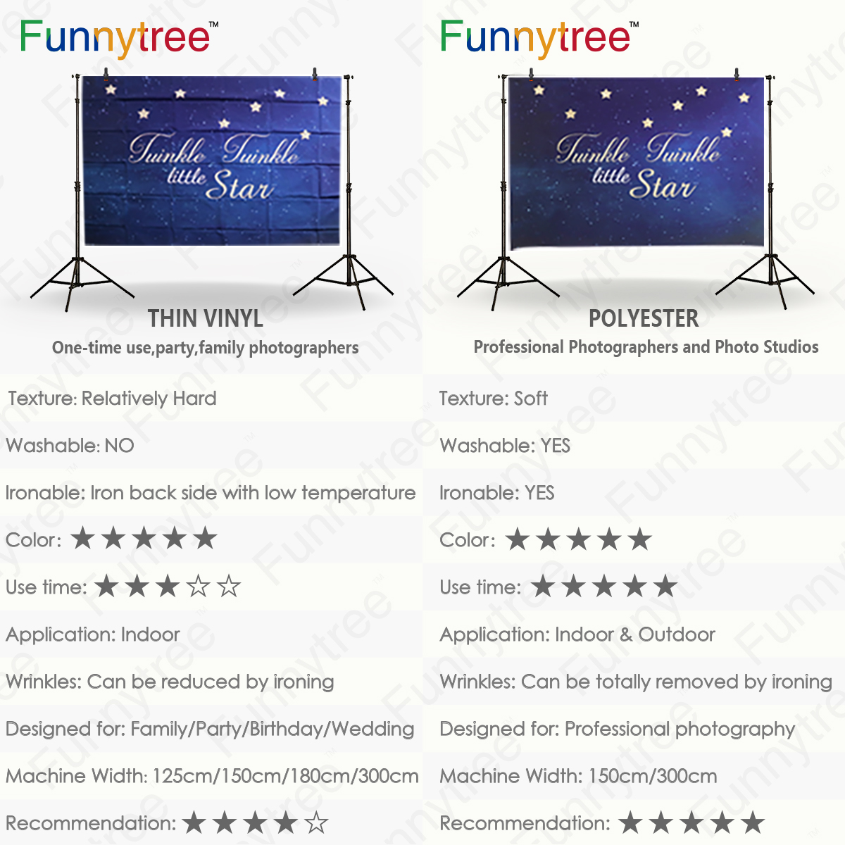 Funnytree Backgrounds For Photo Studio Christmas Decor Bonsai