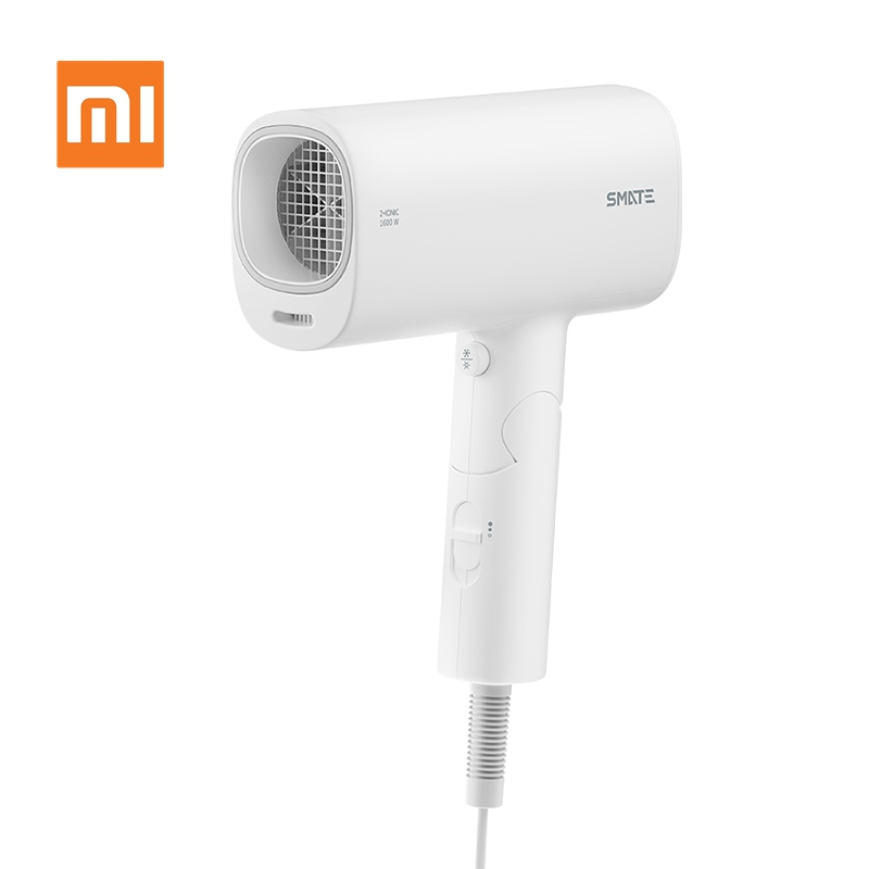 Xiaomi Youpin SMATE Electric Hair Dryer Travel Household Hairdryer Hairstyling Tools Blow Dryer Hot Cold 1600W