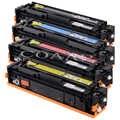 Cf 210a 211a 212a 213a 131a cartucho de toner compatível para hp cor laserjet pro 200 m276n m276nw m251n m251nw impressora