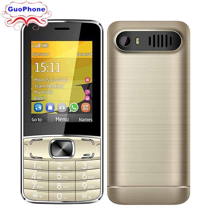 H-Mobile T3 Phone with Dual SIM Card Bluetooth Flashlight MP3 MP4 FM Camera2.8 inch CheapPhone (Free add Russian Keyboard)