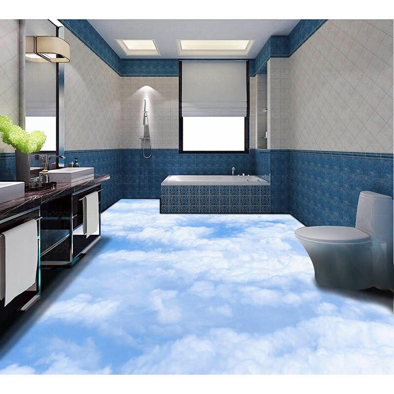 3D Floor Wallpaper Custom HD Photo Wallpaper Beach Wave For Floor ...