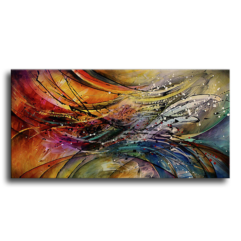 Hand Painted Modern Abstract Oil Painting Home Wall s
