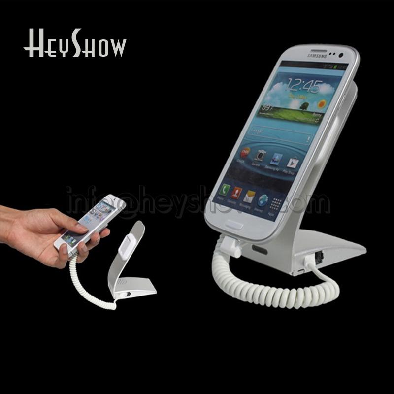 10 STK Simple Metal Mobiltelefon Sikkerhed Display Alarmstativ med - Sikkerhed og beskyttelse - Foto 2