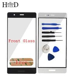 10 шт. Переднее стекло для Huawei P9 внешний экран на замену для объектива Запчасти (без дигитайзера) Панель Инструменты для ремонта клей