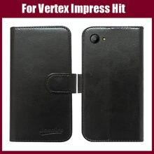 Vertex Impressionar Bateu Caso Chegada Nova Alta Qualidade Estojo protetor Exclusivo Para Vertex Impressionar Hit Capa de Couro Da Aleta