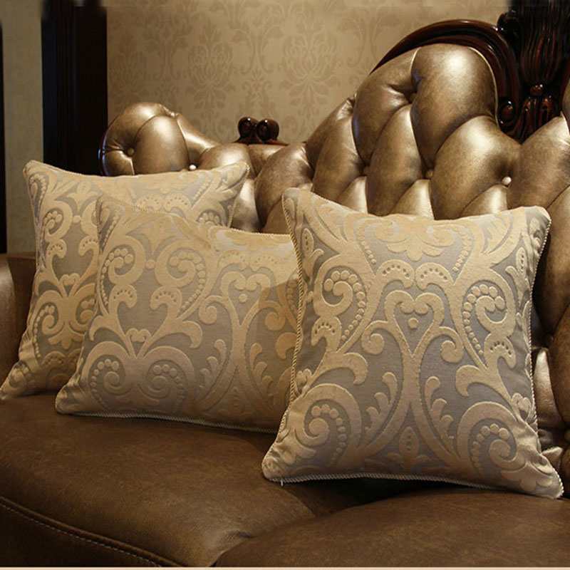 Buy new europe style luxury sofa for Luxury decorative throw pillows