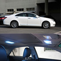 For Lexus ES 250 300 350 2012 To 2015 Car LED Bulb Interior Lights Package Kit Car Stying 13pcs Per Set Auto Accessories
