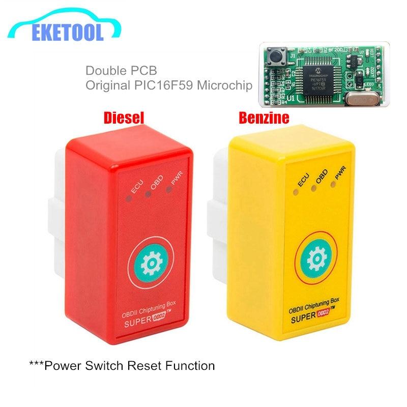 Super OBD2 ECU Chip Tuning Box Reset Key Car SuperOBD2 ECU Programmer More Power/More Torque New Generation NitroOBD2 Nitro OBD2