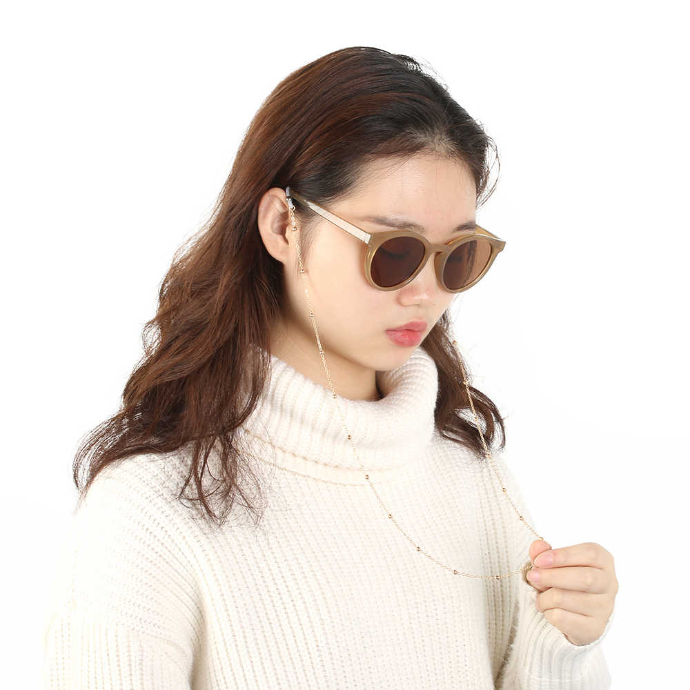 Fashion Unisex Simple Metal Eye Glasses Chain Sunglasses Spectacles Vintage Chain Holder Cord Lanyard Necklace