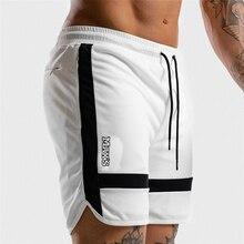 Men Sports Short Pants summer black white casual 2019 Traini