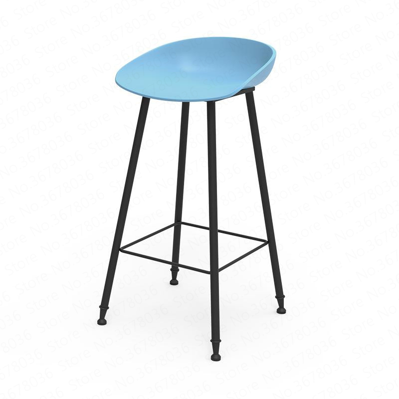 New Nordic Bar Stool European Modern Minimalist Home Gold Wrought Iron Stool Creative Bar Chair High Chair