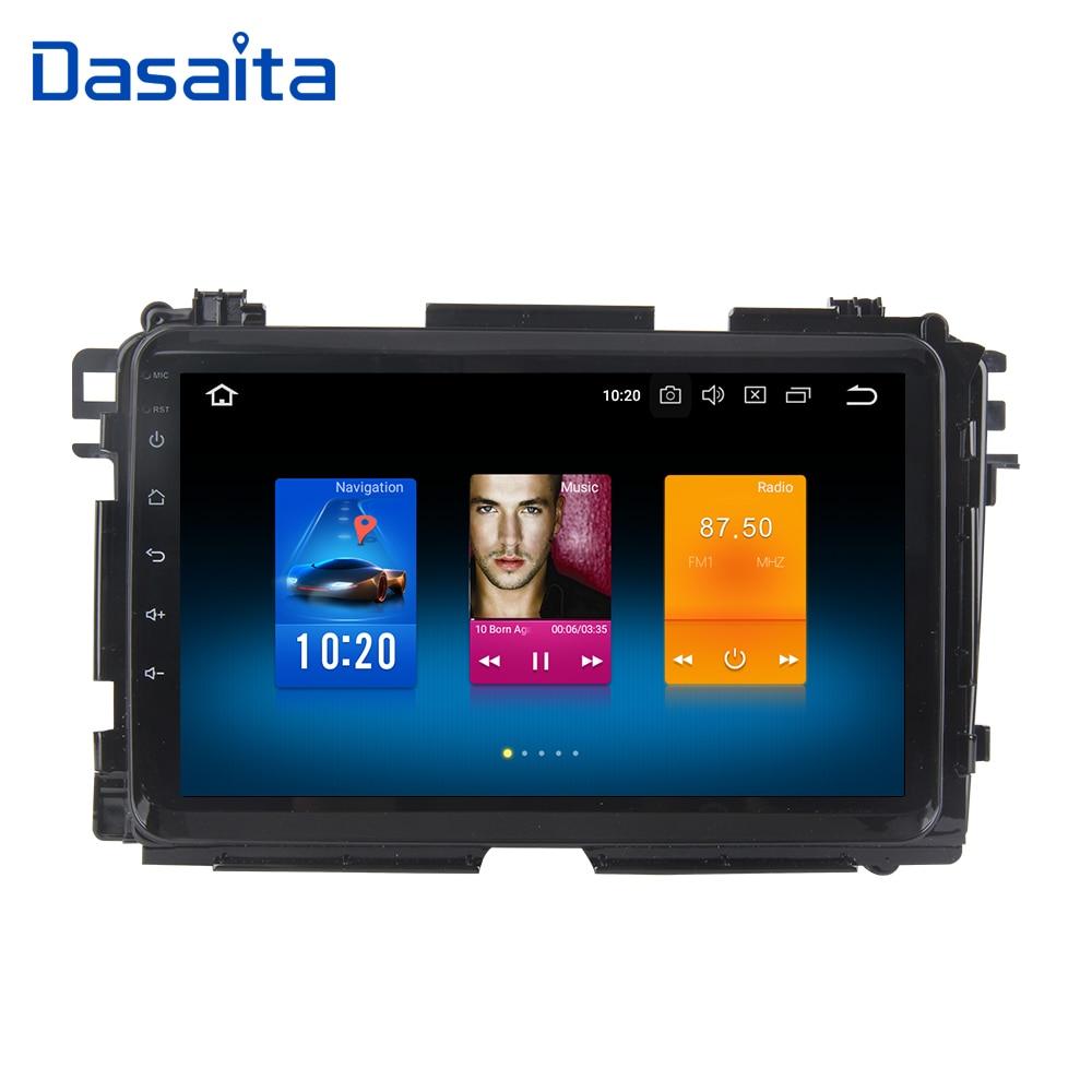 Dasaita 9 Android 8.0 Voiture GPS Radio Player pour Honda Vezel HR-V VRC 2014-2017 avec Octa Core 4 gb + 32 gb Auto Stéréo Multimédia 4g