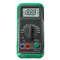 MASTECH MS6013 MY6013A Capacitor Tester Tecrep Portable Digital Capacitance Meter 200pF 20mF Electrical Test Diagnostic tool