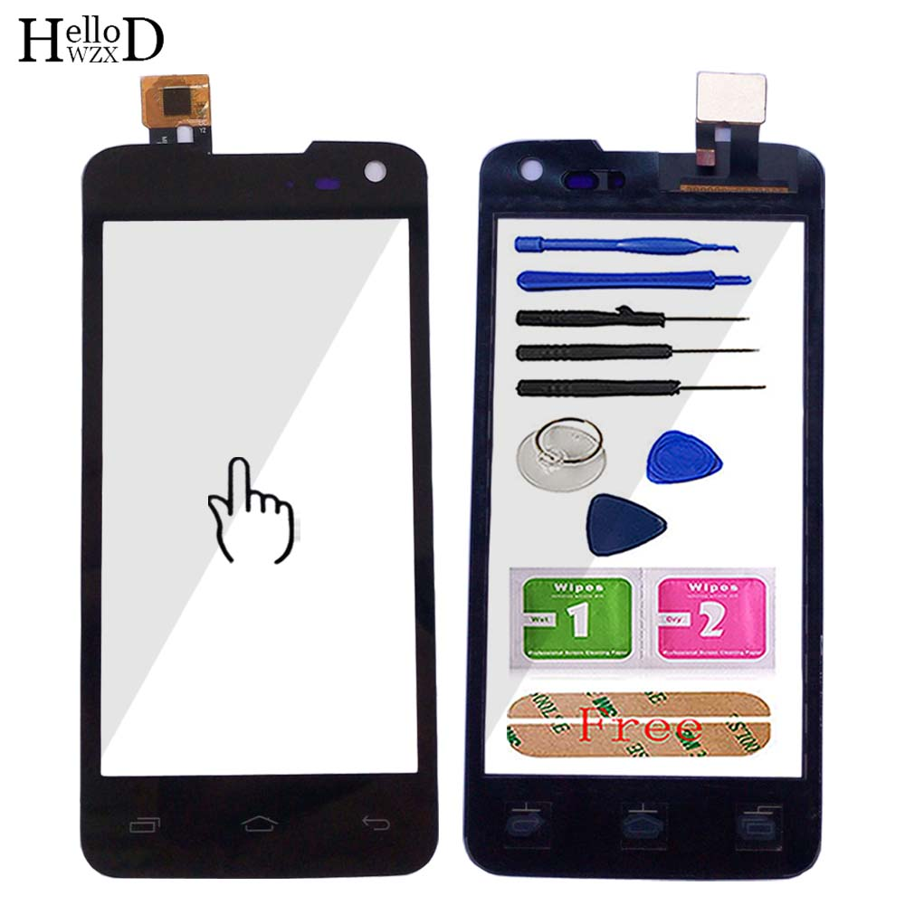 4.5'' Mobile Touch Screen For Micromax Canvas Mad A94 Touch Screen Digitizer Front Glass Lens Sensor Panel Tool 3M Glue Adhesive