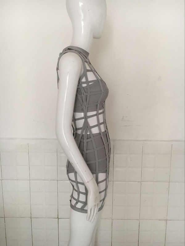 2016 szary bandaż klatka sukienka z bokserki duże rozmiary i gorset sukienka na imprezę wyprzedaż sukienek + garnitur