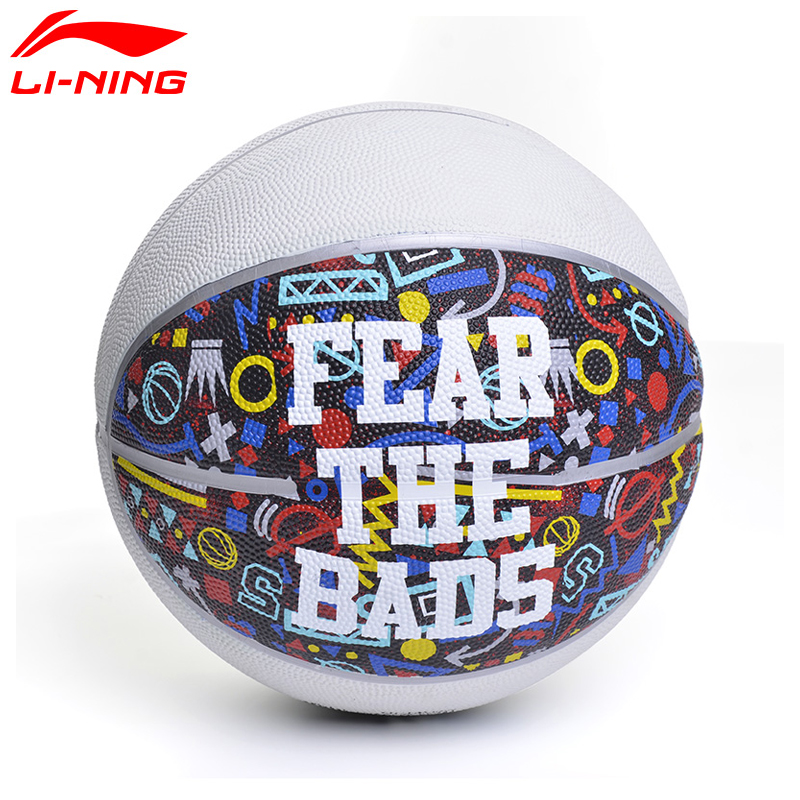 Li-Ning H3000 Synthetic Basketball Indoor&Outdoor Rubber Size 7 LiNing Sports Basketball ABQM072 ZYF160