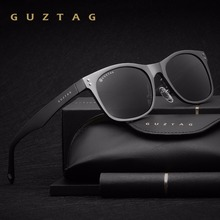 GUZTAG солнцезащитные очки, алюминиевые квадратные мужские/женские мужские поляризованные зеркальные UV400 Солнцезащитные очки, солнцезащитные очки для мужчин oculos de sol G9201