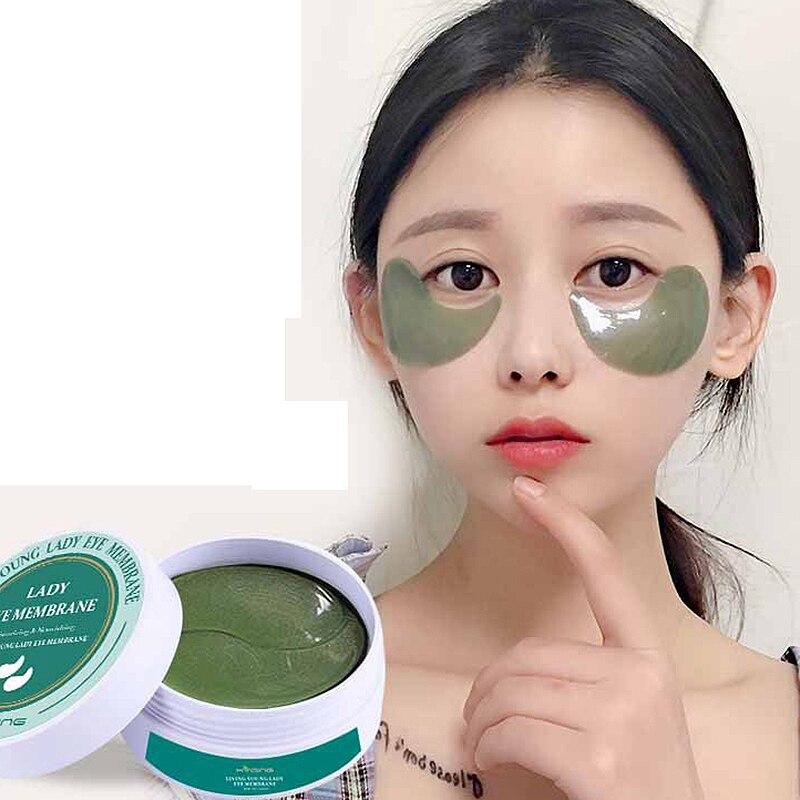 Mokeru Anti-Puffiness Anti-Aging Moisturizing Under Eye Pads Dark Circle Removal Eye Mask Gel Patches For Eyes Korea Skin Care
