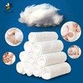 10 Unids Lavable Reutilizable Infantil Del Paño Del Bebé Pañales Liners 100% Algodón Productos de Cuidado para Bebés de Algodón Blanco Suave Insertar
