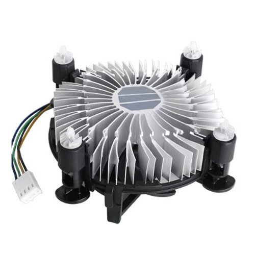Heatsink CPU Cooling Fan Cooler for Intel Pentium 4 D qqv6 aluminum alloy 11 blade cooling fan for graphics card silver 12cm