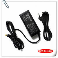 12 Volt 5 Amp 12V 5A DC Supply AC Power Adapter Charger For PC LCD Monitor