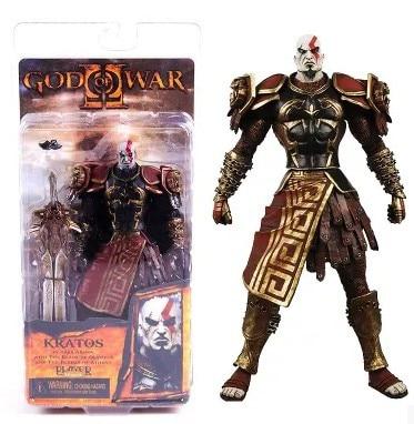 New Original NECA God of War Kratos in Golden Fleece Armor PVC Action Figure Collection Model Toy