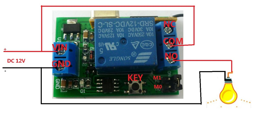 HTB19yBPJpXXXXc_XpXXq6xXFXXXM 315m dc 12v 1 5000s adjustable delay timer wireless relay remote 12v timer wiring diagram at reclaimingppi.co