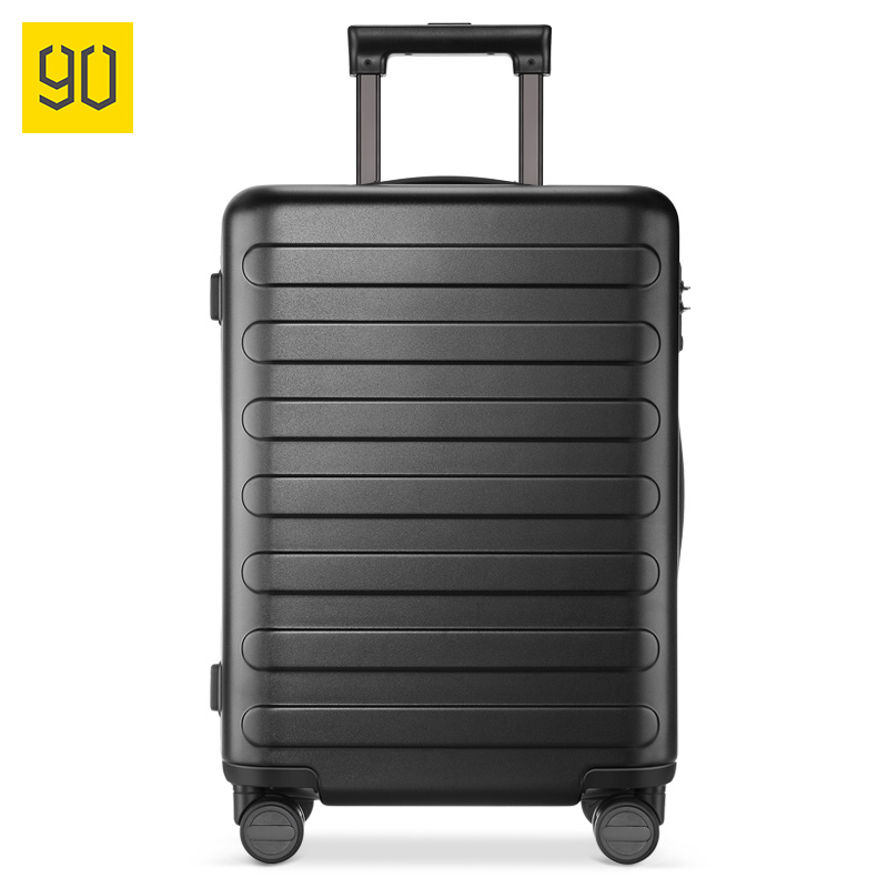 Letrend Fashion Color ABS Rolling Luggage Spinner Women Trolley Suitcase Wheels 20/24 inch Carry On Travel Bag Hardside Trunk - 3