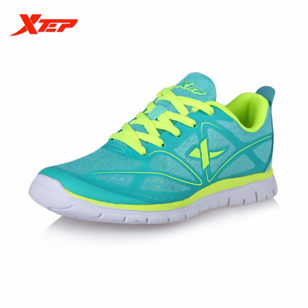 ФОТО XTEP Original Brand Women Mesh Breathable Light Running Shoes Outdoor Athletic Sports Sneakers Trainers Run Shoes 985218119650