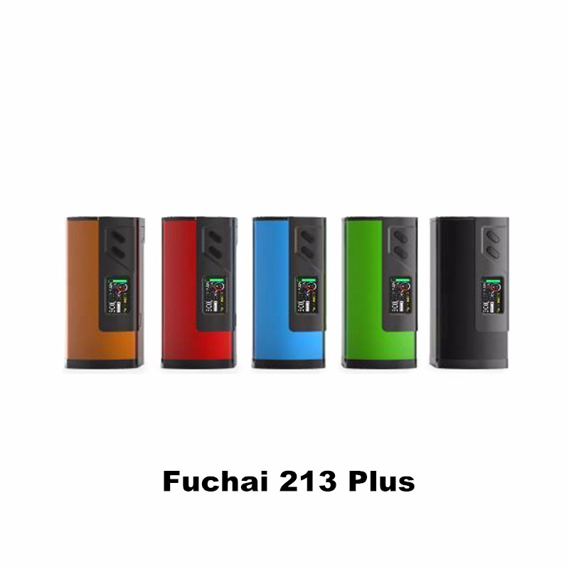 Prix pour 100% D'origine Sigelei Fuchai 213 Plus Mod 213 W TC Vaporisateur Mod Cigarettes Électroniques Vaporisateur Fuchai 213 Plus