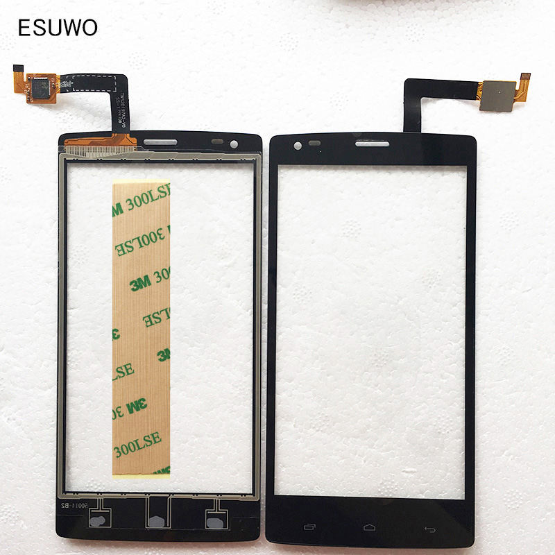 ESUWO New Black Touchscreen For Fly IQ4505 ERA Life 7 Capactive Wholesale Touch screen With Digitizer Front Glass Panel