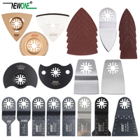 Popular 66 pcs oscillating tool saw blades for renovator power tools as Fein multimaster,Dremel,electric tools accessories